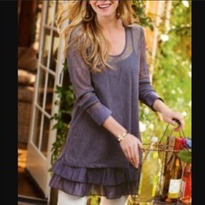 Soft Surroundings Tops - Soft Surroundings layered tunic